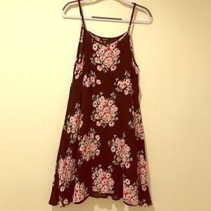 Girls floral slip dress by Zunie sz12